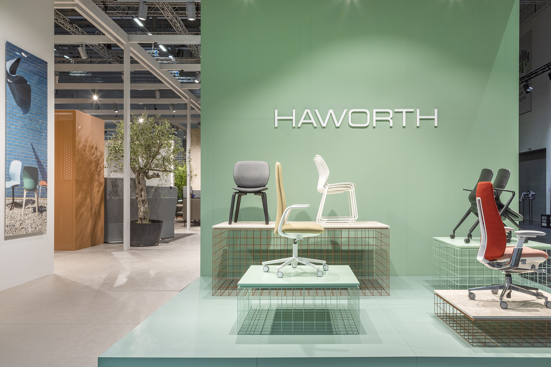 haworth | orgatec 18 | design by studio urquiola