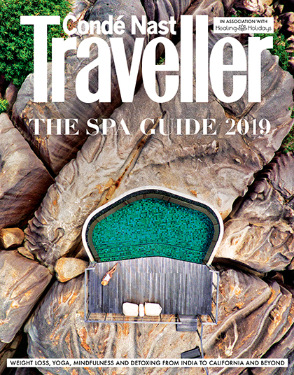 the spa issue CONDE NAST TRAVELLER UK
