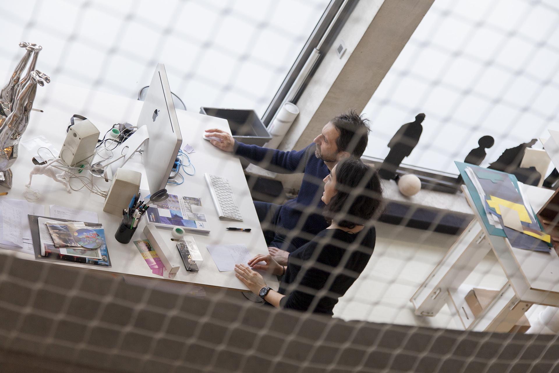 studio xavier veilhan | paris | architecture bona-lemercier