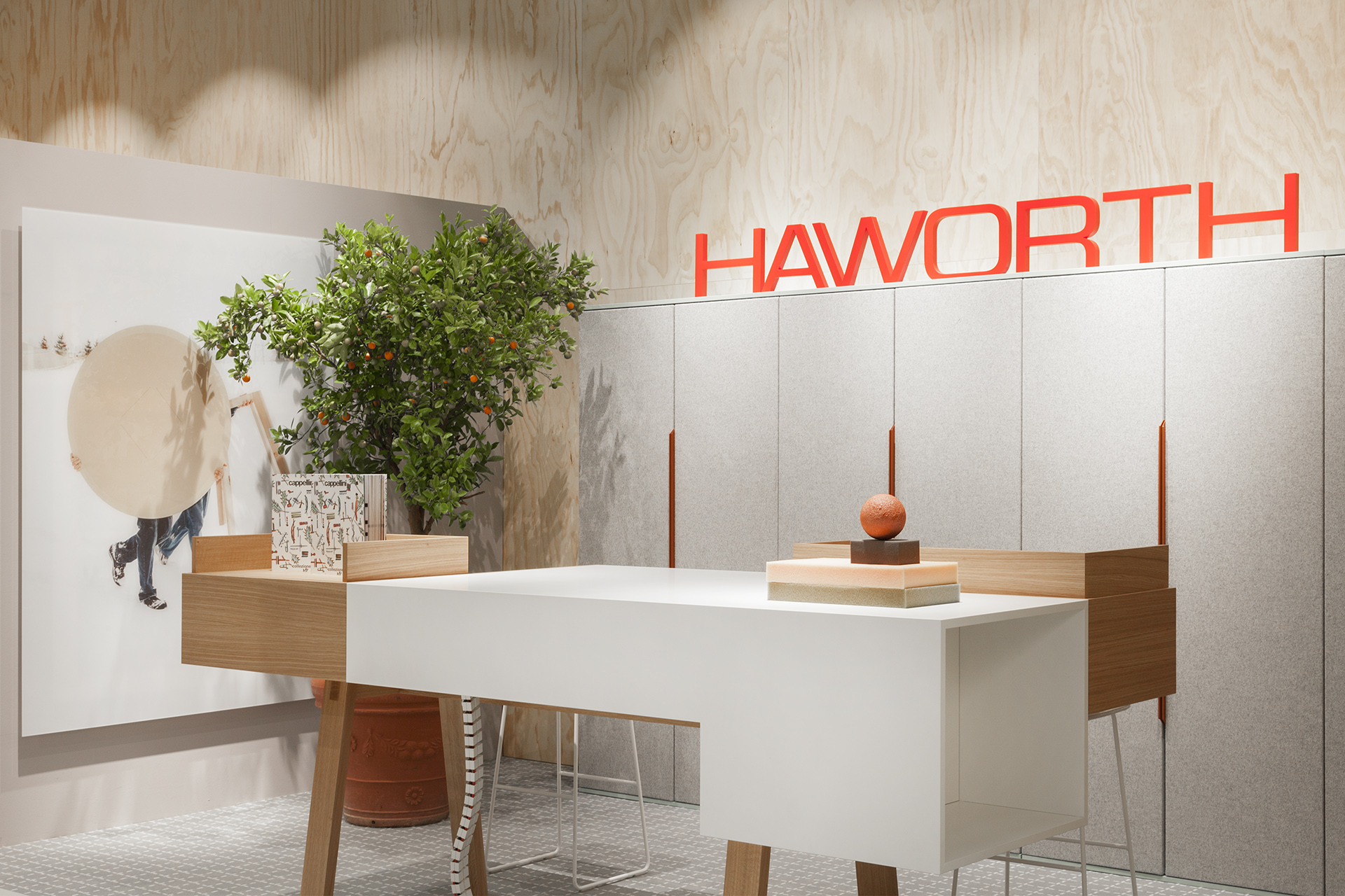 haworth |  spaces places  | orgatec 2016 | design by patricia urquiola