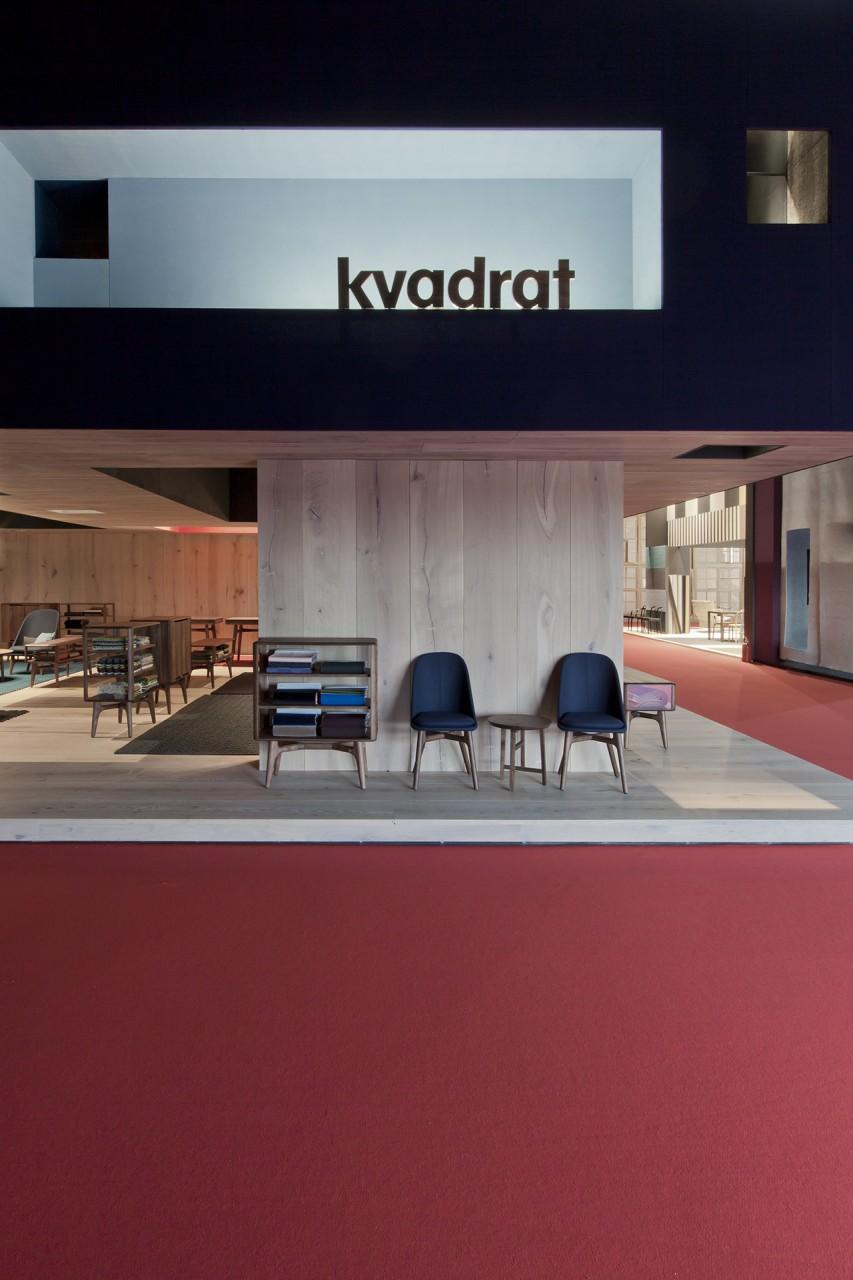 salone del mobile 2016 | kvadrat | stand design by neri&hu | shanghai