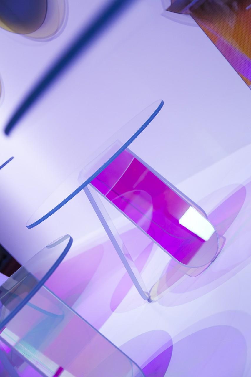 salone del mobile 16 | glas italia | shimmer by patricia urquiola