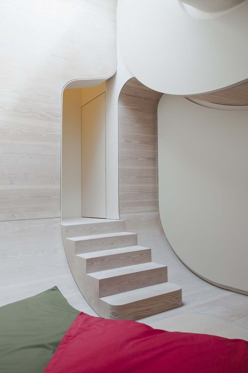 corridor private residence | berlin | juergen mayer h. architects