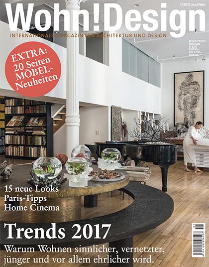 Wohn Magazine publications parinejad