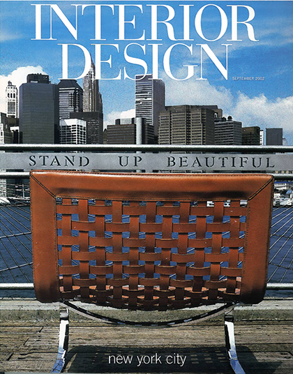 chairs in new york | production | INTERIOR DESIGN MAGAZINE