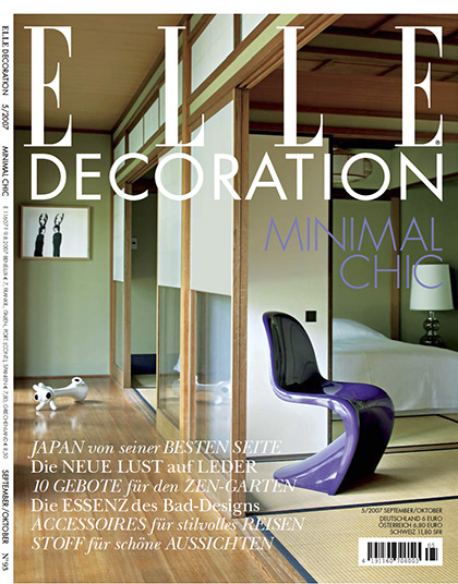home of an art collector| kyoto | COVER ELLE DECORATION GERMANY